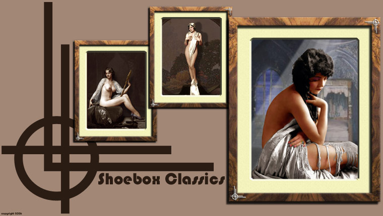 Shoebox Classics - A great place for outstanding colour photographs in a classic 1920's style